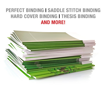 Perfect Book Binding Saddle Stitch Binding Book